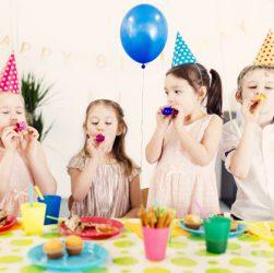 børnefødselsdag arrangeret af børnefest