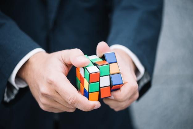rubiks cube løsning