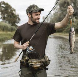 fiske fra vandet